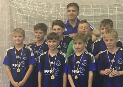 U12 Blue Futsal Winners