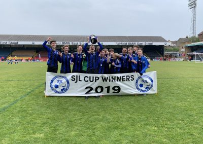 2018-19 U16 White League Cup winners